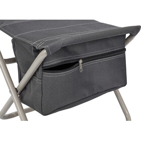CAMPZ Folding Chair with storage anthracite